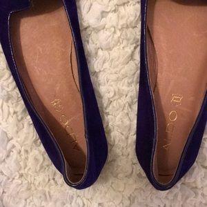 a73eccc9f03 Aldo Shoes - ALDO Dark Purple Loafers  NEVER WORN